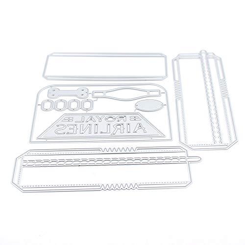 3D Suitcase Box Metal Cutting Dies Stencils for DIY Scrapbooking/Photo Album Decorative Embossing DIY Paper Cards