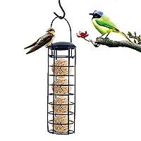 フリッパーリス-プルーフバードフィーダー、アイキャッチャーフィーダー、餃子グリースボールホルダー、小さな野鳥のための屋外バードフィーダーフードディスペンサー