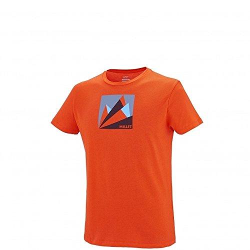 MILLET Miv7773 T-Shirt Homme S Orange