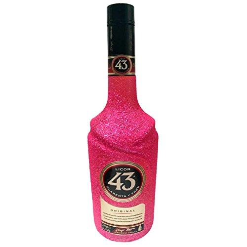 Glitzer Licor 43 (0,7l) - Bling Glitzerflasche Extreme Pink