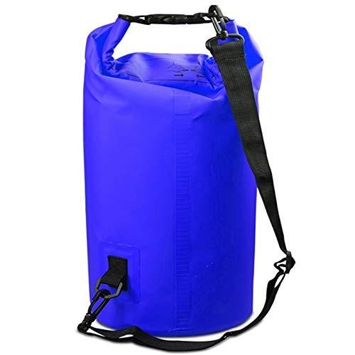 Taoke Esterna Impermeabile Singola Spalla Sacchetto Dry Sack Barrel Bag, capacità: 10L (Nero) 8bayfa (Color : Dark Blue)