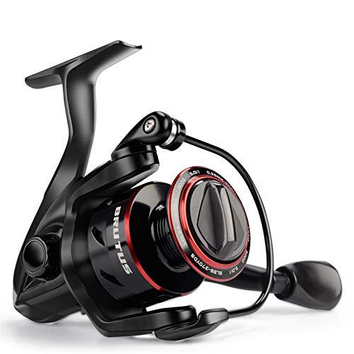 Reel de Pesca Spinning Super Light 8kg MAX Drag 5.0: 1 Ratio de Engranajes Bobina de Pesca de Carpa de Agua Dulce (Spool Capacity : 2000 Series)