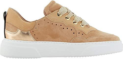 Maripe Damen 28463 Sneaker, Beige (Avana(Velour Avana-VAR.08) 9), 37 EU