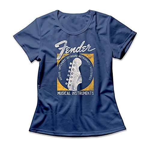 Camiseta Feminina Fender Musical Instruments