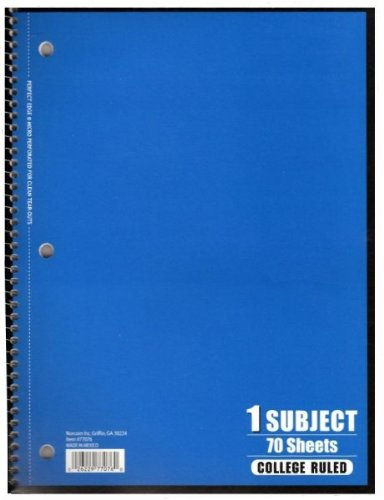 Staples Norcom 1 Sub Notebook Pack of 24