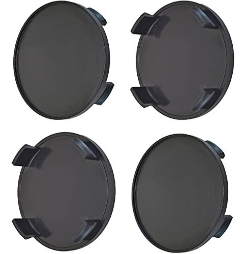 Born 1 Satz 4 STK x 68mm Schwarze Nabenkappen Radkappen Felgenkappen Raddeckel - PASSEND für Felgen mit 64,5-65mm Innendurchmesser des Lochs