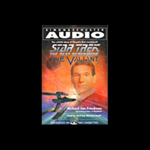 Star Trek, The Next Generation: The Valiant (Adapted) audiobook cover art