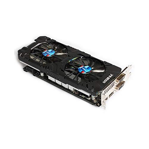 GUOJIAYI Yeston RX580-2048SP-8G D5 GAEA Grafikkarten Radeon Chill Polaris 20 Dual Fan Cooling 8GB Memory GDDR5 256bit DP*3/HDMI/DVI-D