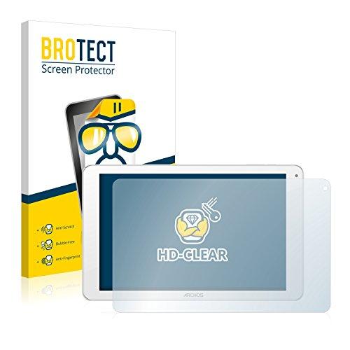 BROTECT Schutzfolie kompatibel mit Archos 101c Platinum (2 Stück) klare Bildschirmschutz-Folie