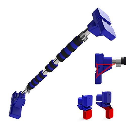 Barra trazioni Porta Senza Viti No punzonatura Nessuna Traccia Regolabili (68-160cm) Ginnastica Palestra di casa Blue Max a 250kg,68/93cm