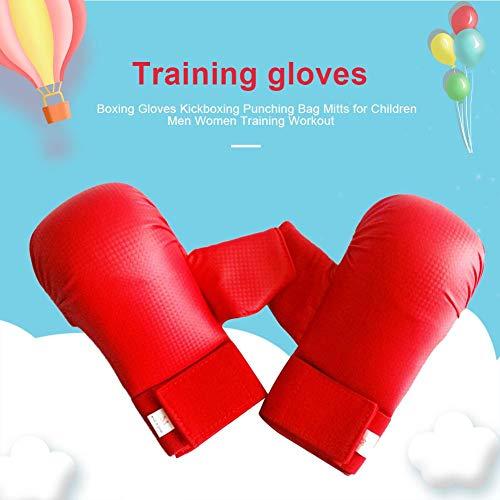 Verbesserte Boxhandschuhe für Kinder, Neueste Kickboxing Boxsack Trainingshandschuhe für Kinder Männer Frauen Training Workout