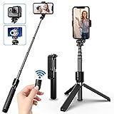 Best Bluetooth Selfie Sticks - SYOSIN Bluetooth Selfie Stick Tripod, Extendable Aluminum Tripod Review