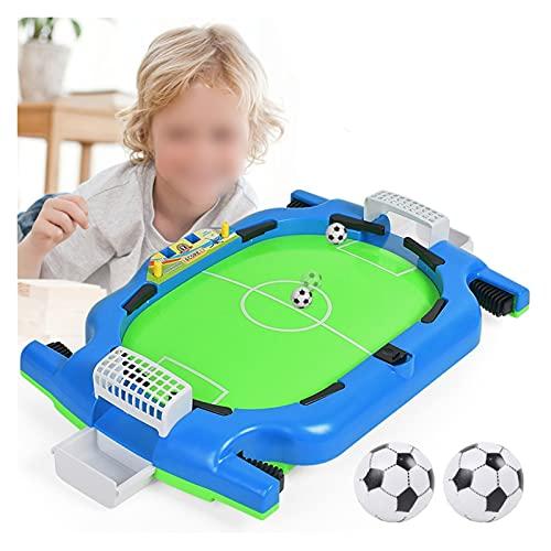 SIWJ Juego De FúTbol De Mesa Mini Juego De Mesa De Fútbol De Mesa, Juego De Interior, Fútbol, Mesa De Juego para Niños, Mesas De Fútbol para Niños ( Color : Light Green )