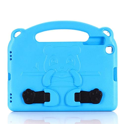 QiuKui Tab Cover For Samsung Galaxy TAB A 8.0 2019 SM-T290 T295 TABA 10.1 T510 T515, Stand Kids Hand Foam Tablet Case For Samsung Galaxy TAB A 8.0 2019 10.1 (Color : Blue, Size : 10.1 inch SM T510)