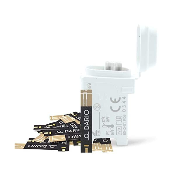 buy  Dario 100 Blood Glucose No Coding Needed Test ... Blood Test Strips