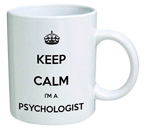 Funny Mug - Keep Calm I'm a Psychologist - 11 OZ Coffee Mugs - Inspirational gifts and sarcasm