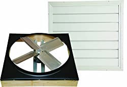 Cool Attic CX242DDWT Drive Drive 2-Speed Whole House Fan