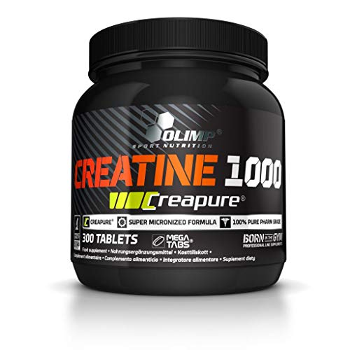 Olimp Creapure Creatine 1000, 2er Pack (2 x 300 Tabletten)
