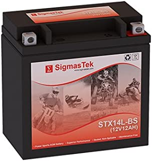 GTX14L-BS Motorcycle Battery (Replacement)