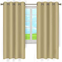 LshyMn Blackout Blackout Curtains with Grommets