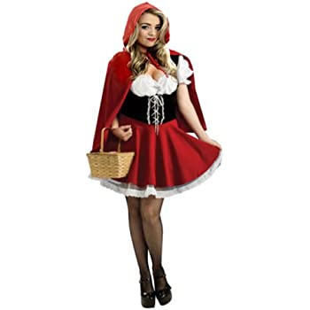 Red Riding Hood Donna Costume World Book Day Settimana Costume ADULTI FIABA