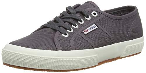Superga 2750 COTU Classic Sneakers, Zapatillas Unisex Adulto, Dark Grey Iron, 40 EU