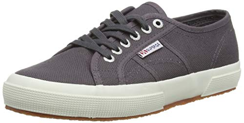 Superga 2750 COTU Classic Sneakers, Zapatillas Unisex Adulto, Gris (Dark Grey Iron), 41 EU