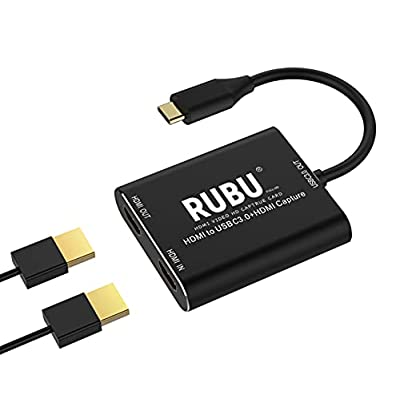 Amazon - 20% Off on HDMI Video Capture Card 4K, Type C USB3.0 1080P 60FPS HD Game