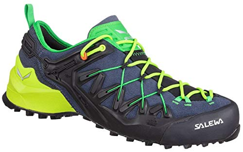 Salewa Herren Wildfire Edge Schuhe, Ombre Blue-Fluo Yellow, UK 10