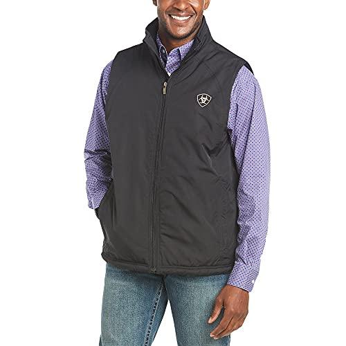 Ariat Men's Team Vest, Black, Medium