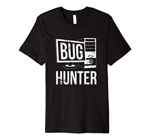 Bug Hunter Qualitätssicherung Tester Ingenieur T-Shirt
