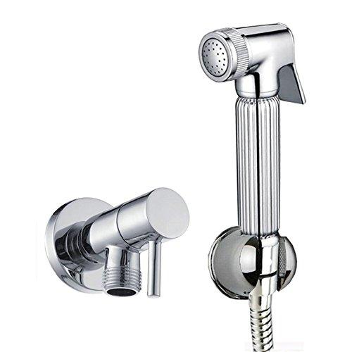 ENKI Set per doccetta igienica bidet/wc ottone cromato