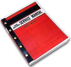 Allis Chalmers 180 Tractor Service Repair Technical Shop Manual Overhaul Book