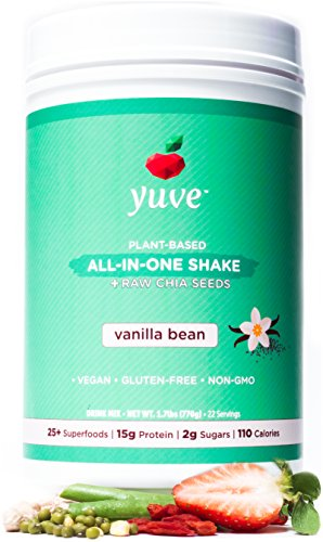 Yuve Vegan Protein Powder with Superfoods - Award...