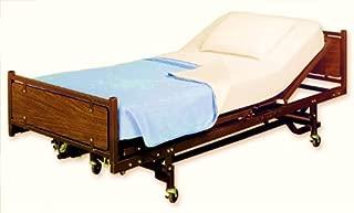 Elaine Karen 4pk Poly Cotton Flat Hospital Bed Sheets, Ivory