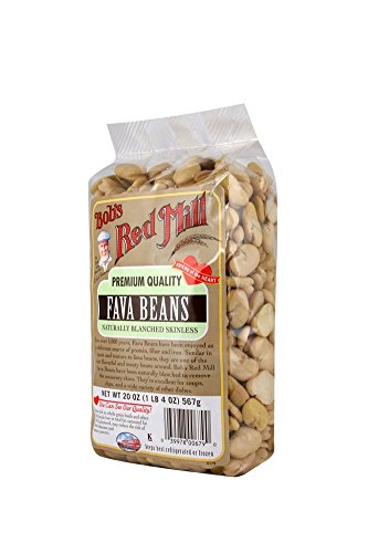 Bob's Red Mill Fava Beans, 20-ounce (Pack of 4)