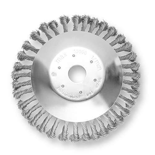 Gaint - Unkrautbürste - 200 x 25,4 mm - Langlebig - Freischneider geeignet, passt auf alle herkömmlichen Modelle