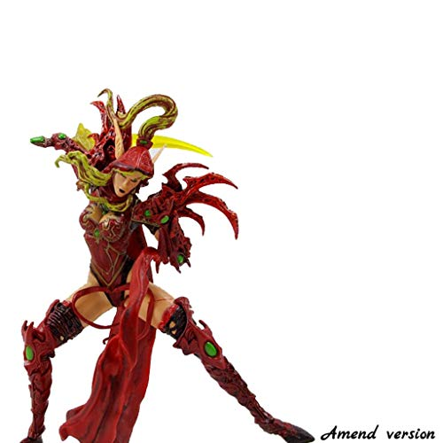 Lilongjiao World of Warcraft Serie: Valeera Sanguinar Blood Elf Rogue PVC Figura Modelo Juegos de construcción