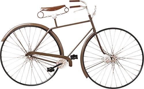 Kare Design - Decorazione da Parete Vintage Bike, Marrone, 49 x 5.5 x 89.5 cm