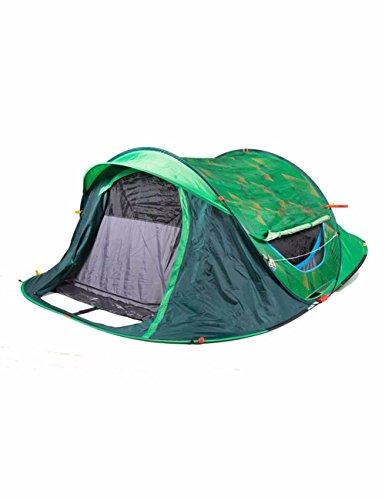 SJQKA-camp de toile, de 2 à 3 personnes, plus vite l'impression automatique des tentes,pour green