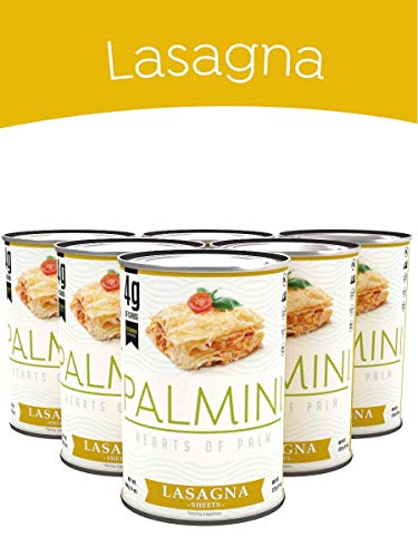 Palmini Low Carb Lasagna | 4g of Carbs | As Seen On Shark Tank | 6 Unit Case | Gluten Free