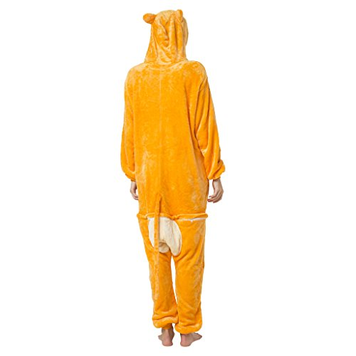 Katara-(10+ Modelos) Disney Dschungelbuch Kigurumi Pijamas Disfraz Animal Halloween Adultos, color mono, Talla 175-185cm (1744)