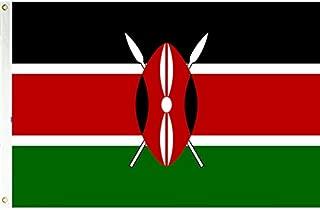 3x5 Kenya Flag Kenyan Country Banner African Pennant