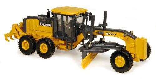 ERTL John Deere 872GP Grader (1:50 Scale) Yellow