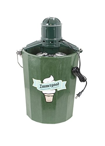 Cheap Electric - 6 qt. - Old Fashioned Ice Cream Maker w/Motor