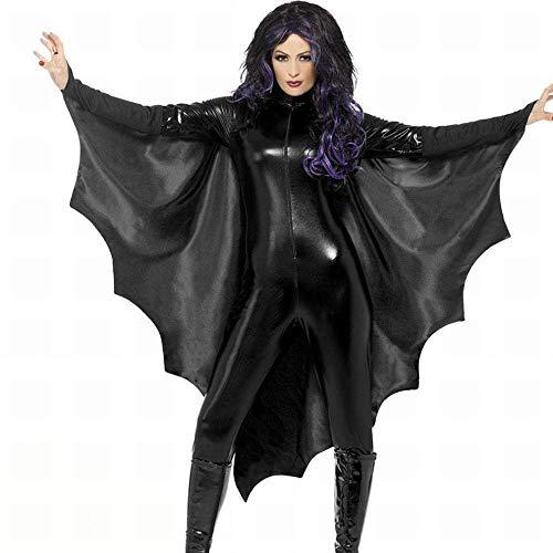 chen Halloween Horror Bats Een Stuk Party Prestatie Kostuum Cosplay Kleding voor volwassen Beste Halloween Decoratie Prop