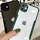 Ciao Cases Shockproof Bumper Phone Case with Camera Protection for (iPhone 11, Green)
