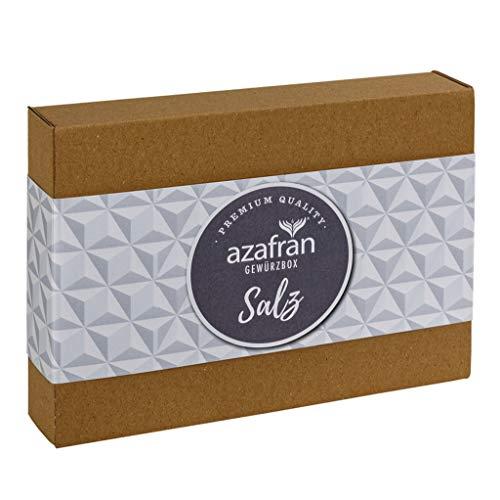 Azafran Salz Geschenk Set / Flor de Sal (Meersalz) Geschenkbox