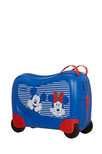 Samsonite Samsonite Dream Rider Disney - Equipaje Infantil, 51 cm, 28 L, Azul (Minnie/Mickey Stripes)