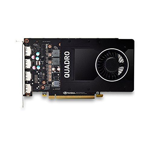 HP NVIDIA Quadro P2000 (5GB) Graphics Card - Graphics Cards (Quadro P2000, 5 GB, GDDR5, 160 Bit, 5120 x 2880 Pixels, PCI Express x16 3.0)